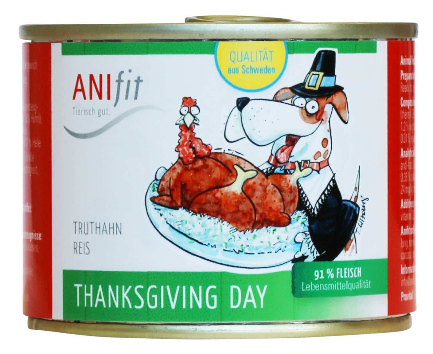 Anifit Hundefutter kaufen Thanksgiving Day