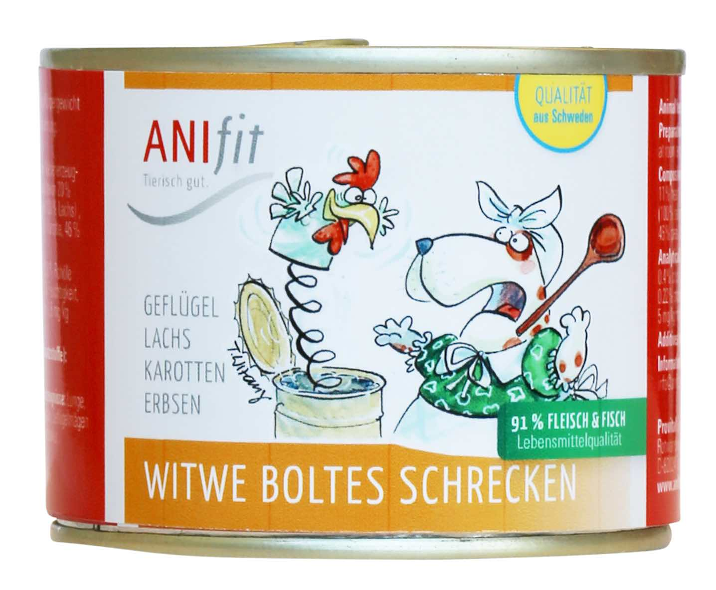 Anifit Nassfutter Witwe Bolte
